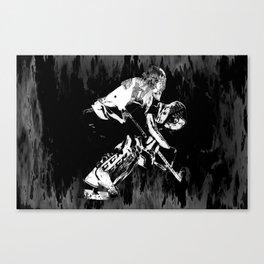 Ice Hockey Goalie Canvas Print