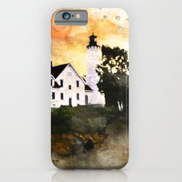 Pt. Iroquois Lighthouse iPhone Case