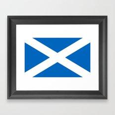 Flag of Scotland Framed Art Print