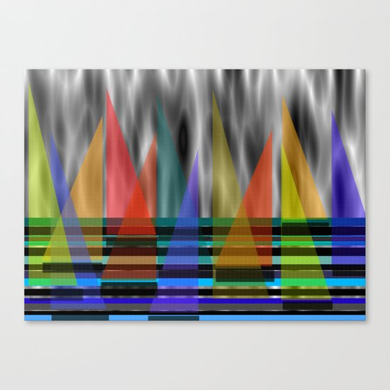 Wind In My Sails Canvas Print