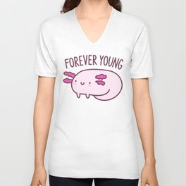 Adorable Axolotls Unisex V-Neck