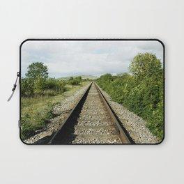 Train Tracks Laptop Sleeve