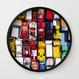 Toy Cars Wall Clock