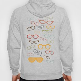 Classy Glasses Hoody