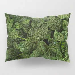 Leafs of Green (Color) Pillow Sham
