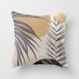 Elegant Shapes 15 Throw Pillow