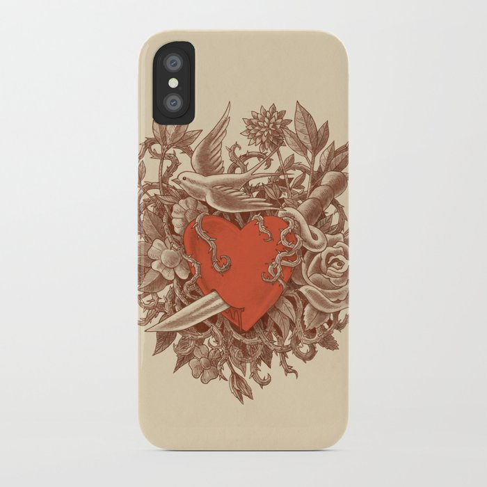 Heart of Thorns iPhone Case