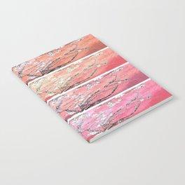 Vincent Van Gogh Almond Blossoms Panel Pink Peach Notebook