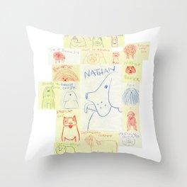 Dog Show Throw Pillow