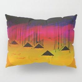 Pink Horizon / Archipelago Pillow Sham