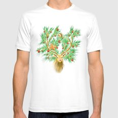 Have you finish your christmas tree yet? MEDIUM White Mens Fitted Tee