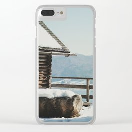 Attersee (5) Clear iPhone Case