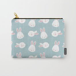 Cute Bunnies Carry-All Pouch