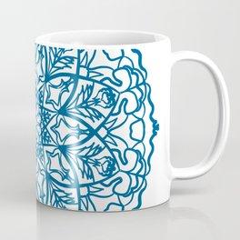 Blue mandala design Coffee Mug