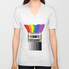 Creative Design Unisex V-Neck