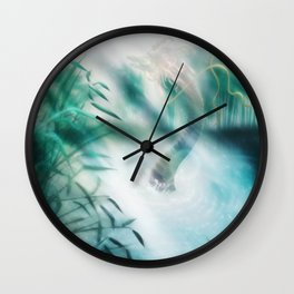 Liege of the Lake Wall Clock