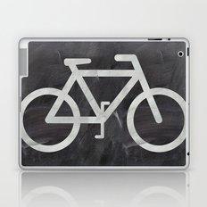 Bicycle on chalkboard Laptop & iPad Skin