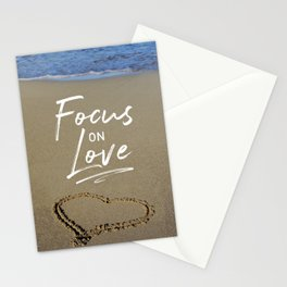 Focus on Love 3 Stationery Cards
