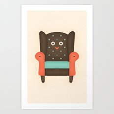 Arm Chair Art Print
