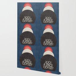 2001 a Space Odyssey, Stanley Kubrick alternative movie poster, dark blue  classic film, cinema love Wallpaper