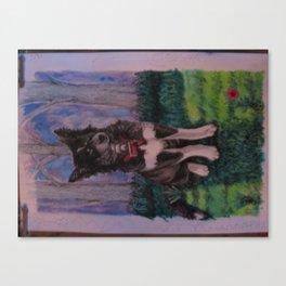 Kali-flower Canvas Print