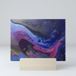 Purple Nebula Too Mini Art Print