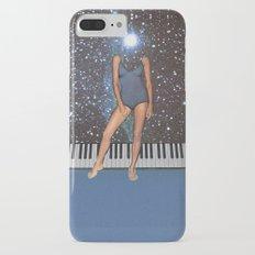 Blue girl iPhone 7 Plus Slim Case
