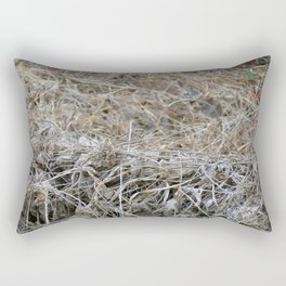 His Eye is On the Sparrow Rectangular Pillow