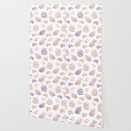 winter cone pattern II Wallpaper