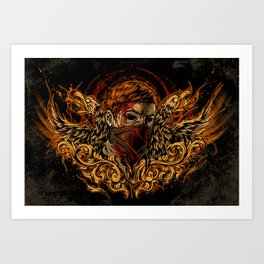 Back from the Dead Art Print
