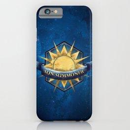 Sun Summoner iPhone Case