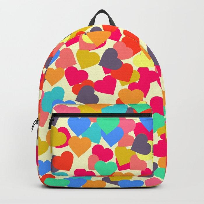 Rain of hearts Backpack