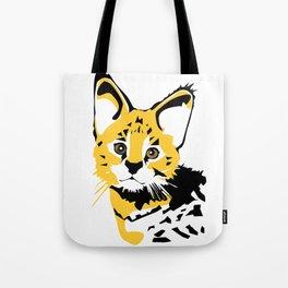 Serval 2 Tote Bag