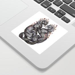 Ferret Companions Sticker