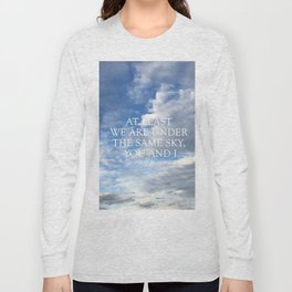 The Same Sky Long Sleeve T-shirt