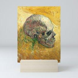 Skull by Vincent van Gogh, 1887 Mini Art Print