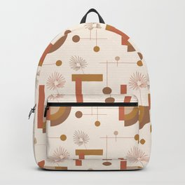 Balanced Mid Mod Desert Pattern Backpack