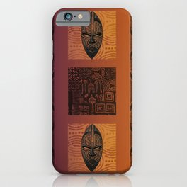 Ethnic 3 - African Style Pattern iPhone Case