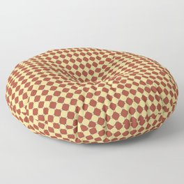 Fondant Perfection - Yellow-Red Floor Pillow
