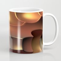 copper Mugs featuring Copper Toned by Lyle Hatch