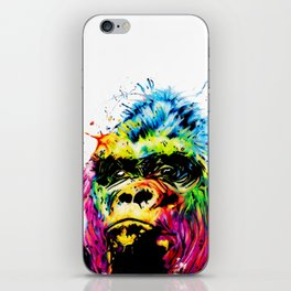 Rainbow Gorilla iPhone Skin