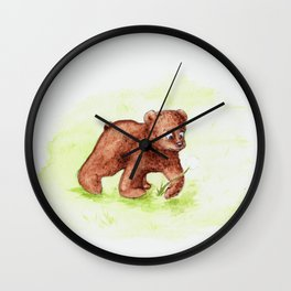 A Little Discovery Wall Clock