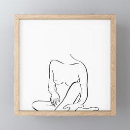 Anna Carmen | So naked. Framed Mini Art Print