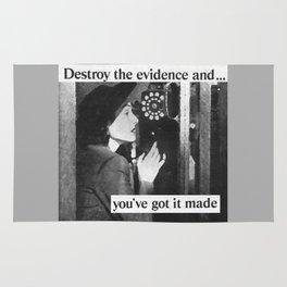 Evidence Rug