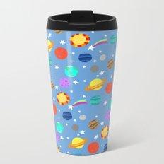 planets and stars Metal Travel Mug