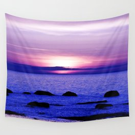 Dusk on the Saint-Lawrence Wall Tapestry