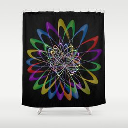 Abstract perfection 201 Shower Curtain