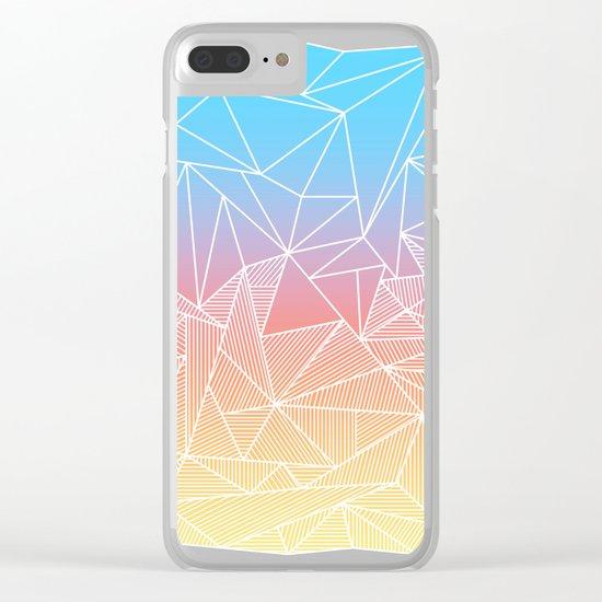 Bakana Rays Clear iPhone Case