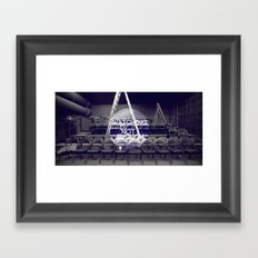 Watching Is Not Enough Framed Art Print