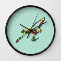 font Wall Clocks featuring A font by riz lau
